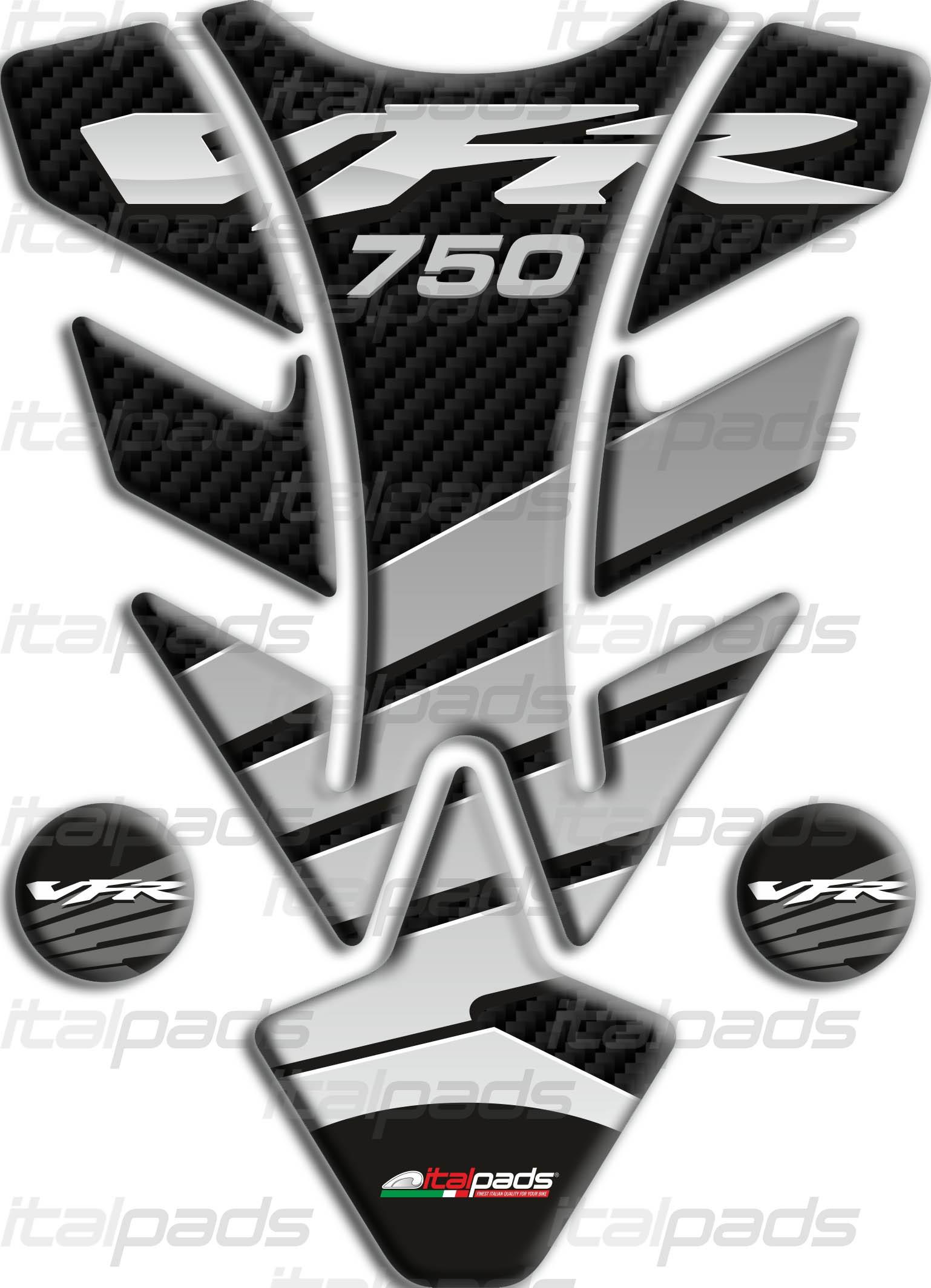 Keiti Tankpad silber für Honda VFR 750 RC24 RC36 VFR750 THD-204S NEU