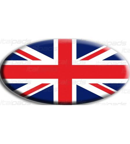 Sticker Union Jack Royal British flag Range Rover OVAL