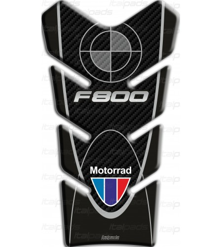 """TANK PAD PROTECTIVE for BMW F800 ST mod. """"Basic"""" black-carbon"""