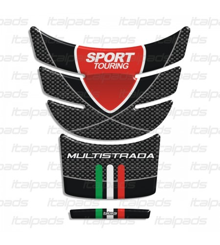 "Tank Pad ""Sport Carbon"" for DUCATI Multistrada year 2017"