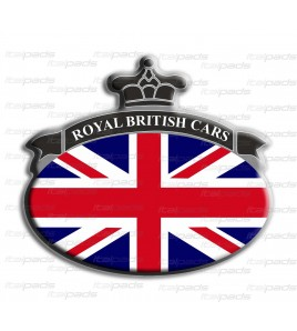 Sticker Union Jack Royal British flag Range Rover B/G