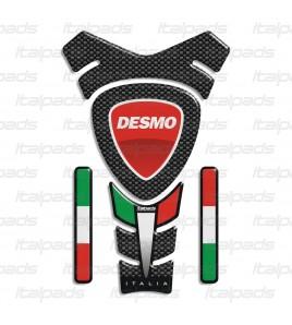 "DUCATI TANK PAD  ""ITALIA Racing""  mod. ""Texas"" + 4"