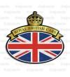Sticker Union Jack Royal British flag Range Rover G/W
