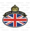 Badge sticker Union Jack Royal British flag Range Rover