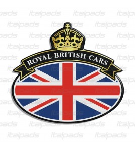Badge sticker Union Jack Royal British flag Range Rover