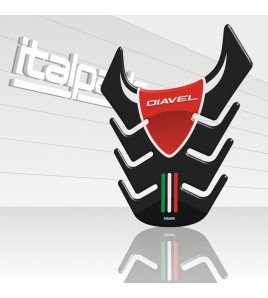 "Tank Pad mod. ""Skeleton"" suitable for DUCATI Diavel"