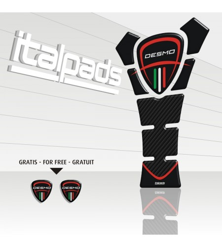 """TANK PAD for Ducati  mod. """"TexasEco"""" black/carbon"""