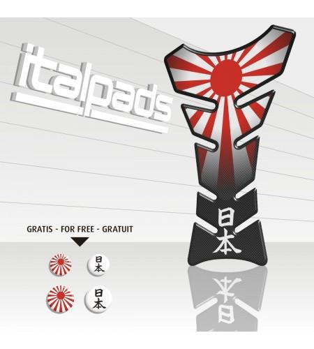 "Tank Pad protector  JAPAN flag ""Classic"" + 4"