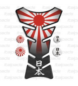"Tank Pad protector  JAPAN flag ""Classic"" + 4"