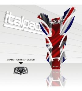 "Tank Pad per Triumph Speed Triple ""DETROIT"" + 1 sticker FOR FREE"