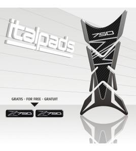 "Tank Pad  mod. ""Shark"" for Kawasaki Z750 gray tones"