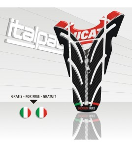 "TANK PAD  ""Top Wings ZIP"" for Ducati + 2 stickers"