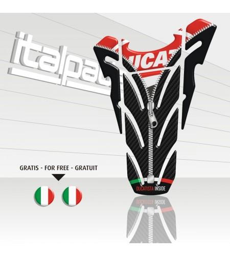 "TANK PAD  ""Top Wings ZIP"" for Ducati + 2 stickers"