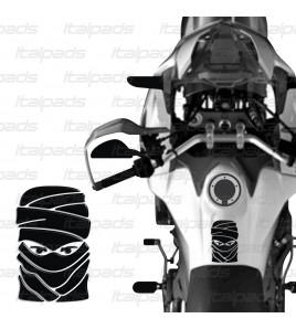 "Tank Pad for Honda Africa Twin CRF 1000 mod. ""Tuareg"" black"