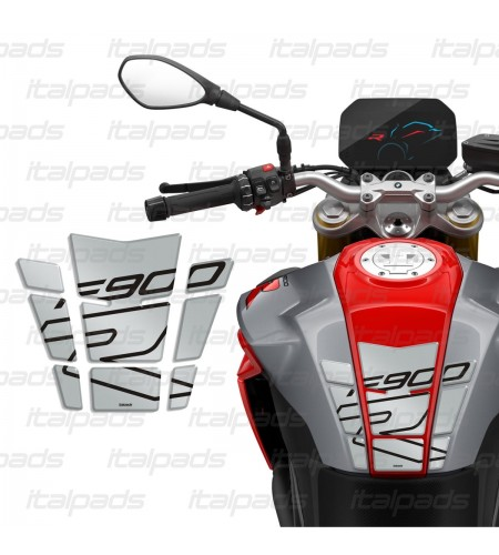 Resin Tank Pad silver/gray for BMW F900R