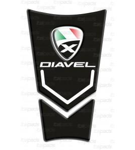 Tank Pad black for DUCATI XDiavel