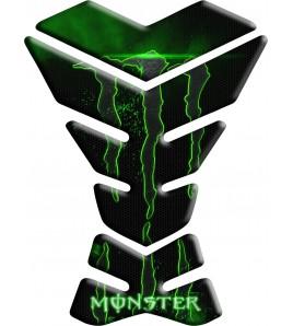 "BLACK/GREEN TANK PAD PROTECTIVE Monster ""York Grid"""