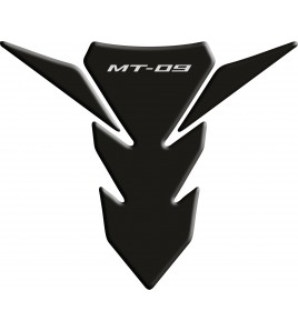 Tank Pad for Yamaha MT-09 Black fit on 2014 to 2015 models