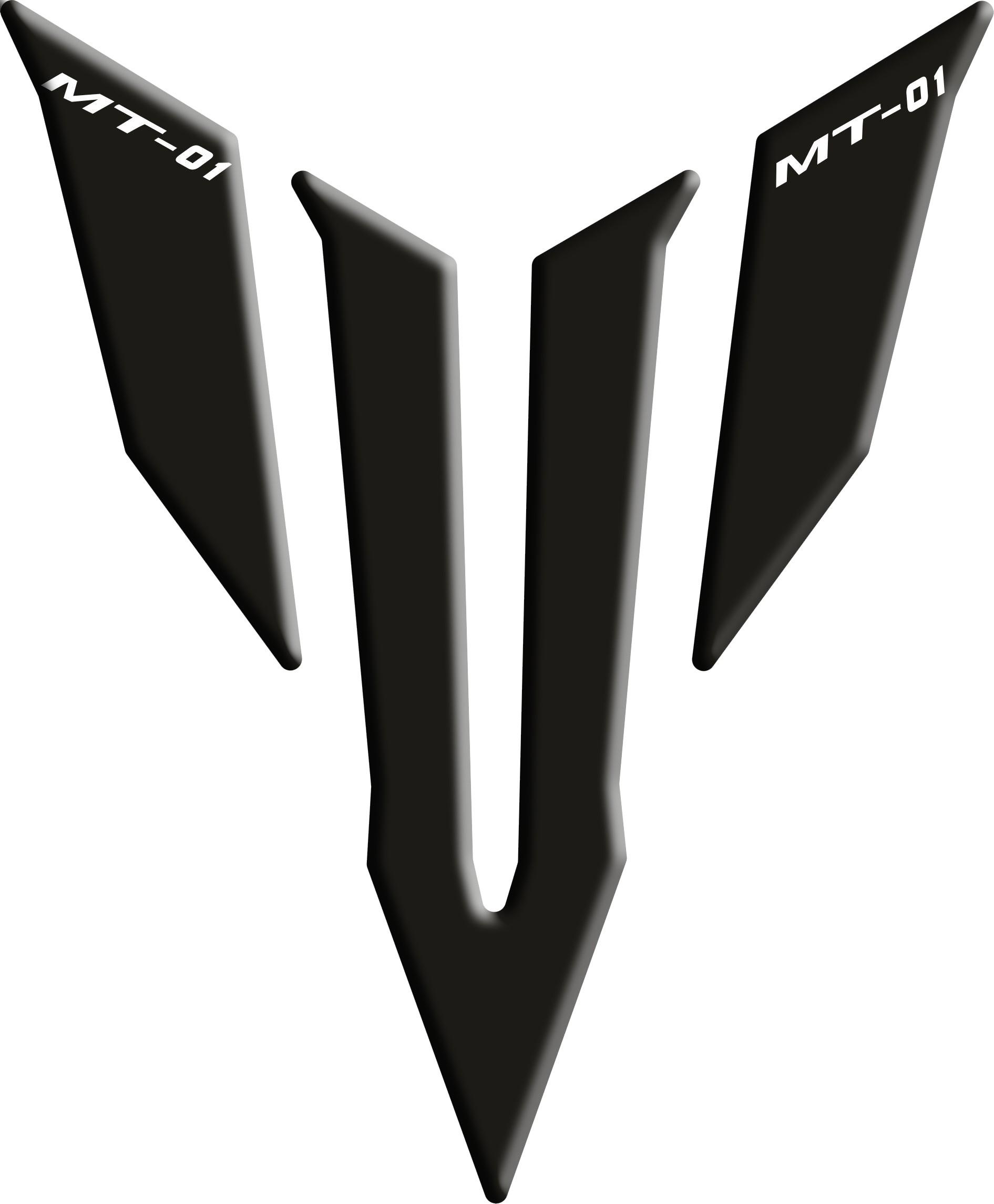 Tank Pad Yamaha Logo MT 01 Black