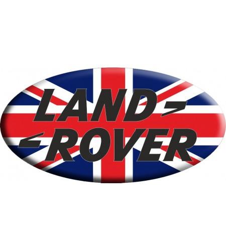 Sticker Union Jack Royal British flag  Land Rover OVAL