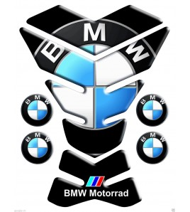 """TANK PAD black generic for BMW mod. """"new york"""" +4 FOR FREE!!"""