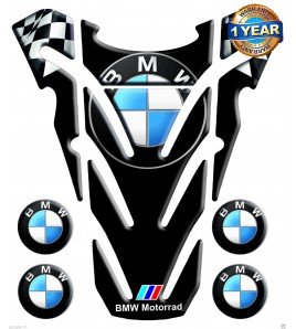 "TANK PAD for BMW  black mod. ""top wings"" +4"