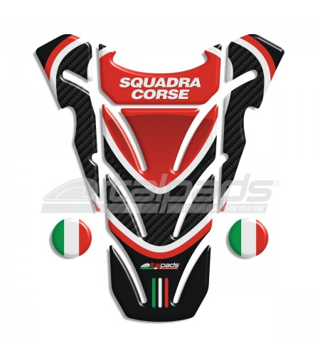 """TANK PAD sticker """"Top wings"""" for Ducati Monster carbon/black + 2 For free!!"""