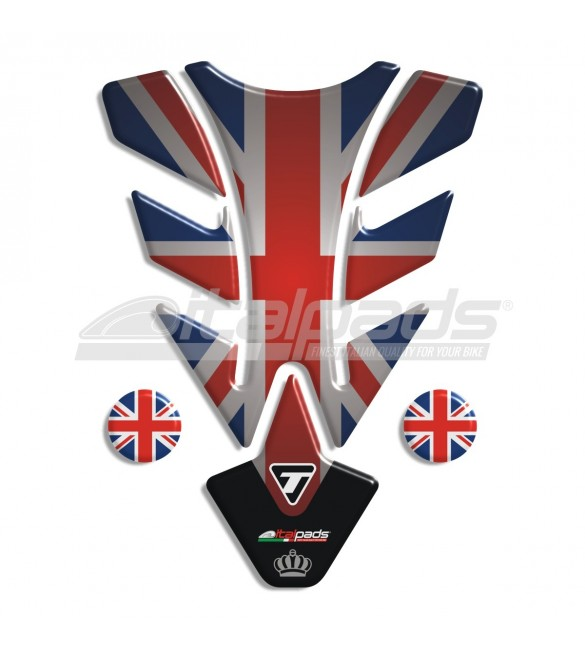 Tank Pad For Triumph Uk Flag Union Jack Mod Illinois Top 2