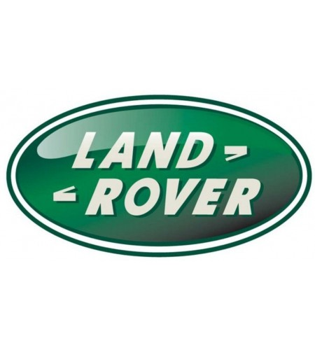 Oval Sticker green resined Land Rover mm. 84x43