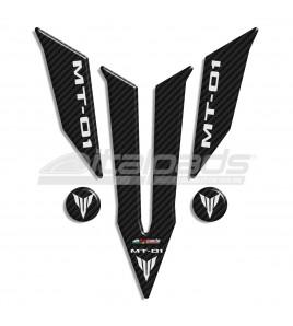 Tank Pad Yamaha logo MT-01 carbon look + 2 For Free