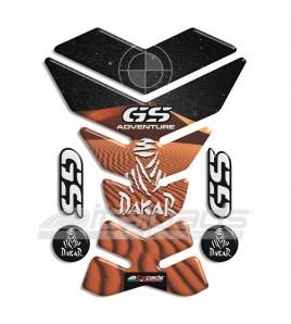 "TANK PAD for BMW GS mod. ""York Dakar"" +4 FOR FREE!!"