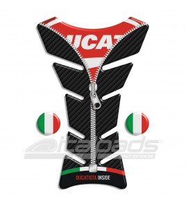 "TANK PAD  ""Classic ZIP"" for Ducati + 2 stickers"