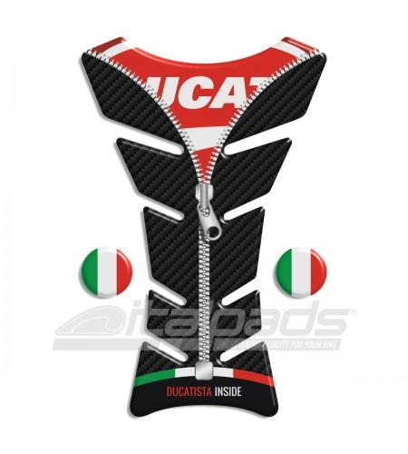 "TANK PAD  ""Classic ZIP"" for Ducati + 2 stickers"