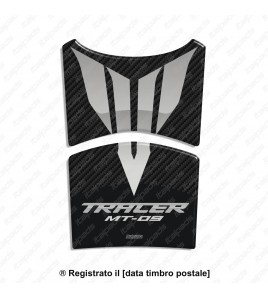 Tank Pad for Yamaha Tracer MT-09 carbon look